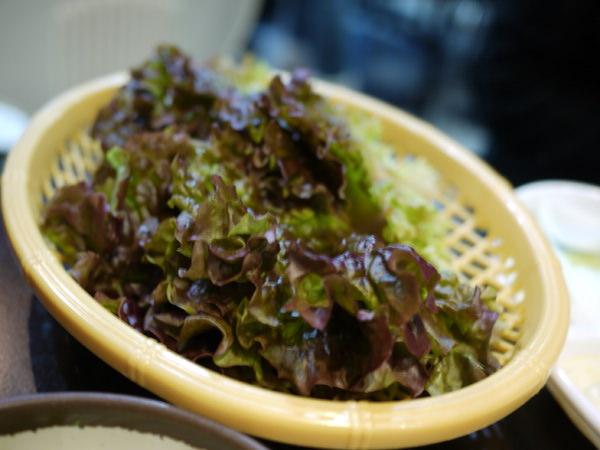 包肉好吃的生菜