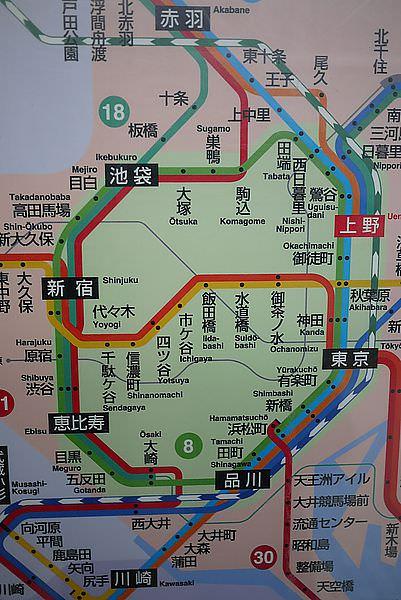 我往上野,珊往表參道