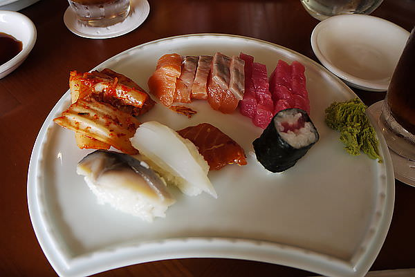會來飯店...一定是要吃中餐囉!!  今天的中餐是日式BUFFE ^^