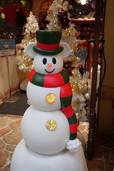 門口立即有可愛的聖誕米奇等著 ^_______________^