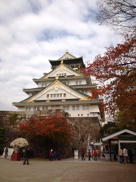 大阪城的天守閣